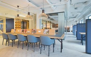 flexwerken tafel vergaderen informeel werkplek huur kantoorruimte SKEPP