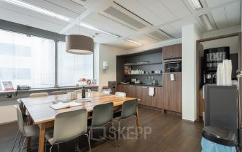 Keuken nette lunch ruimte Amsterdam Schiphol vliegveld