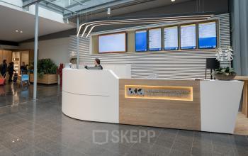 Receptie world trade centre Amsterdam schiphol Airport kantoorruimtes