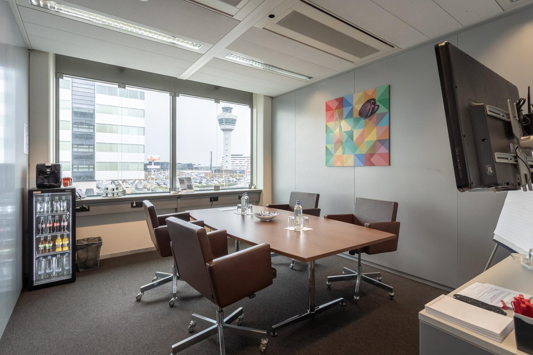 Ingerichte kantoorruimtes te huur Schiphol Boulevard Amsterdam Airport