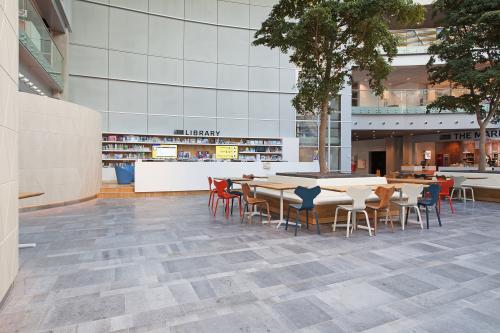 bibliotheek kantoorpand sociaalhart kantoorgebouw Schiphol