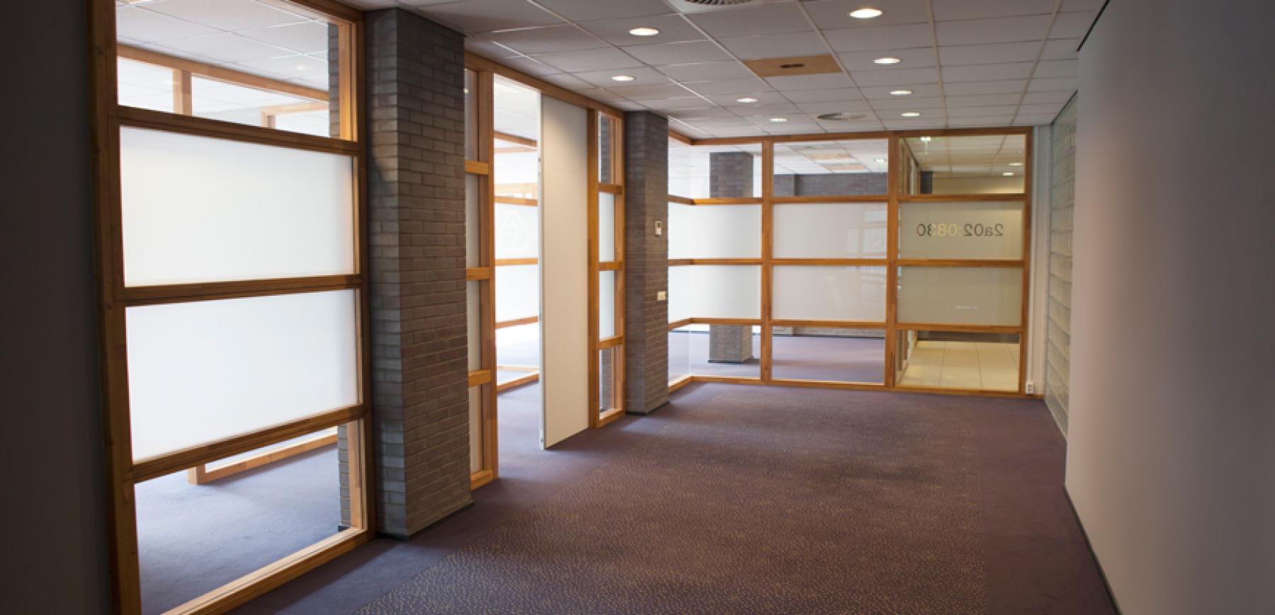 kantoorruimte eindhoven science park binnenkant gang
