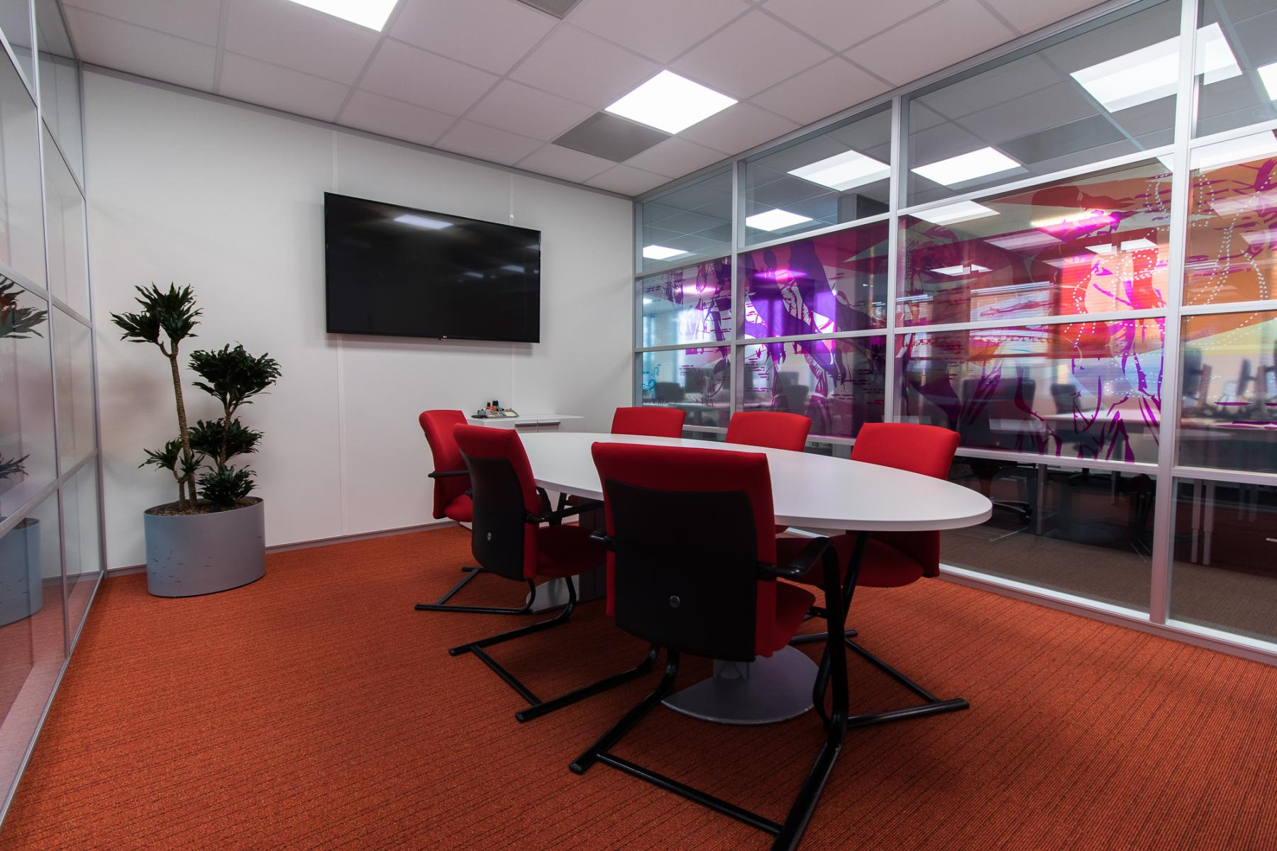Office spaces multiple options