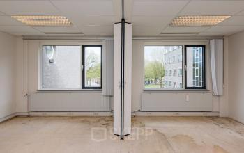 office building with 2 windows in tilburg