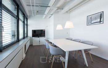Een luxe vergaderruimte