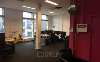 Office space for rent with 8 working desks