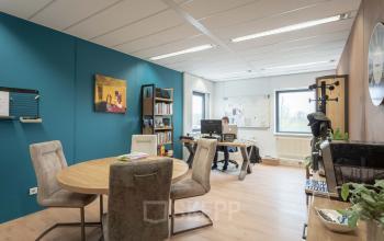 zelf in te richten kantoorruimte Utrecht atoomweg met kantine en parkeerplekken