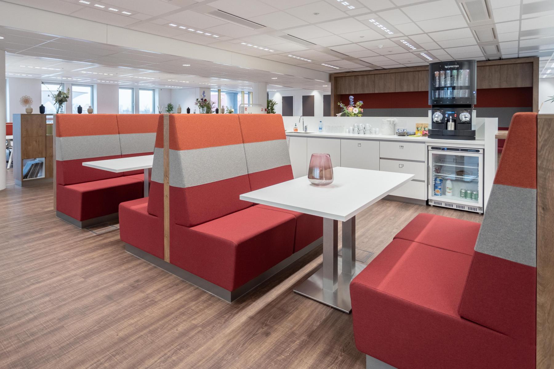 kantine pauze ruimte lunch ruimte binnen Utrecht kantoorpand