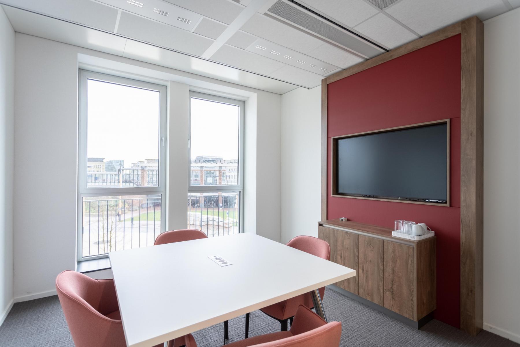 Parijsboulevard Utrecht Leidsche rijn kantoorpand kantoorruimtes co-working spaces