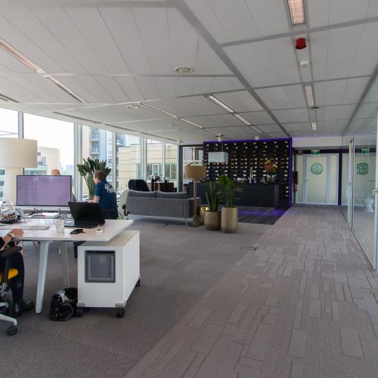 At the Papendorpseweg in Utrecht are several office spaces for rent