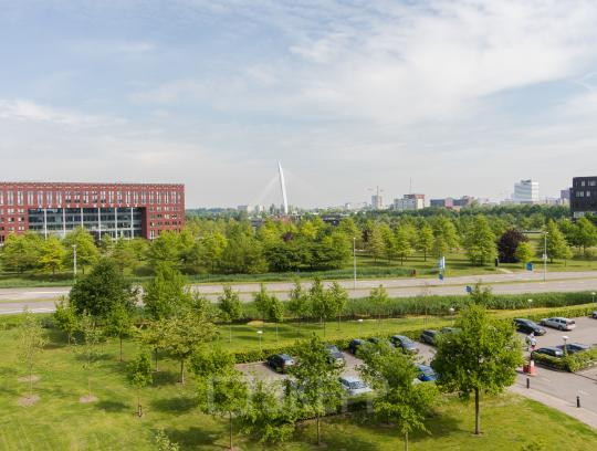 Office spaces with a beautiful view in Utrecht