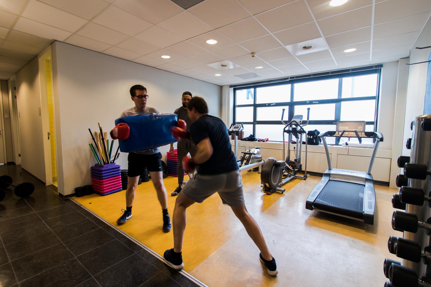 Fitness at office space Zonnebaan Utrecht