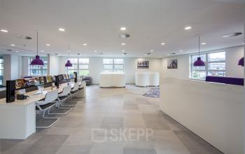 flexwerkplekken kantoor utrecht newtonlaan balie