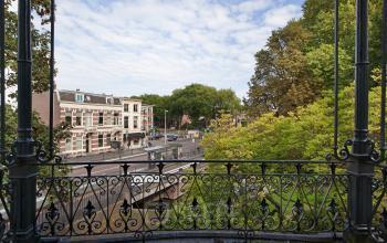 prachtig uitzicht monumentaal kantoorpand Oorsprongpark Utrecht