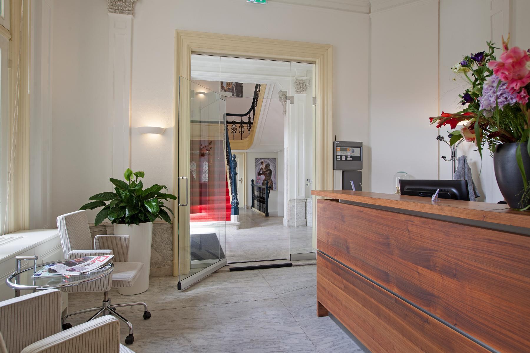 open receptie kantoorgebouw Utrecht