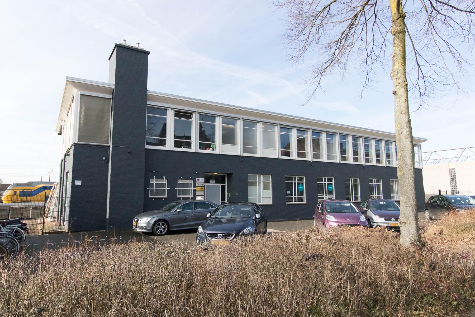 Buitenzijde kantoorpand Venlo