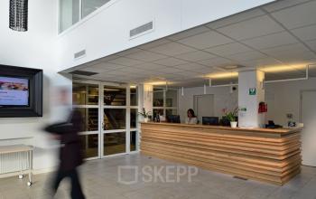 receptiebalie entree kantoorpand zoetermeer