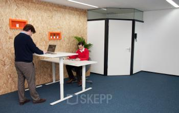 Working while you are seated or standing