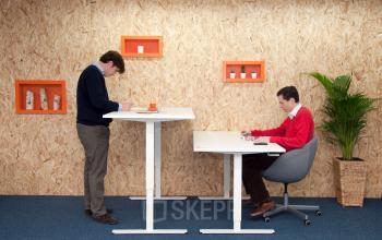 Adjustable work spots in Zoetermeer