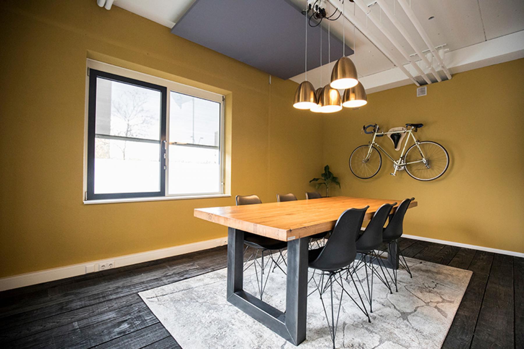 Een vergaderruimte