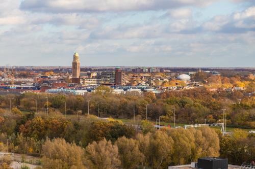 Uitzicht op Zwolle
