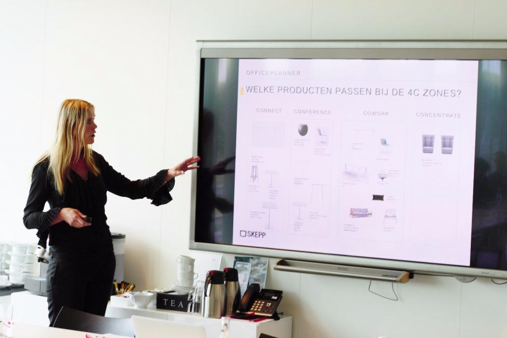 presentatie officeplanner cocons art director